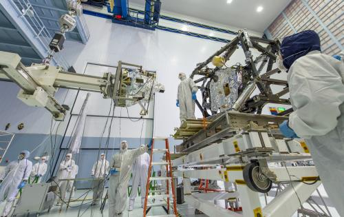 NASA completes first part of Webb Telescope's 'eye surgery' operation