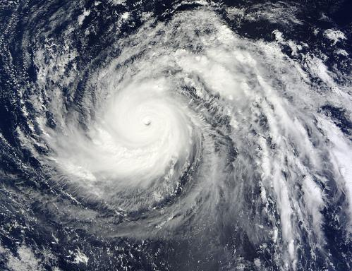 NASA eyes Super-typhoon Lekima in the northwestern Pacific