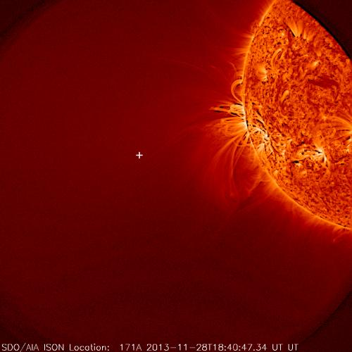NASA: Fire vs. ice: The science of ISON at perihelion