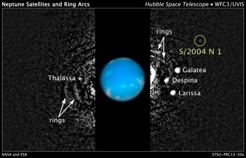 NASA Hubble finds new Neptune moon