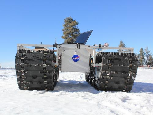 NASA rover prototype set to explore Greenland ice sheet