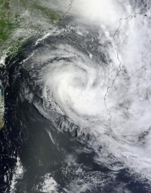 NASA saw Tropical Storm Haruna come together