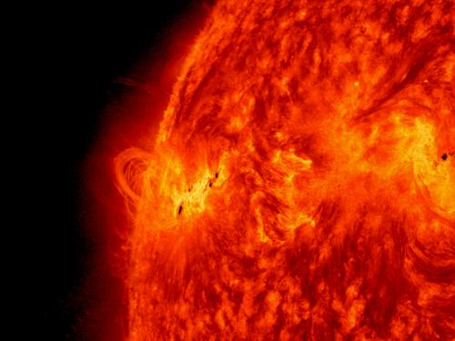 NASA sees activity continue on the sun