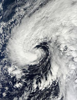 NASA sees late season subtropical storm Melissa form in Atlantic