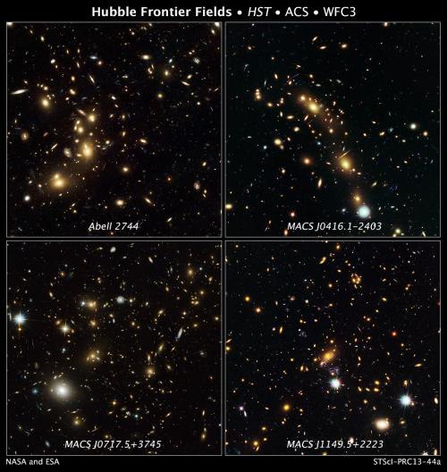 NASA's great observatories begin deepest ever probe of the universe