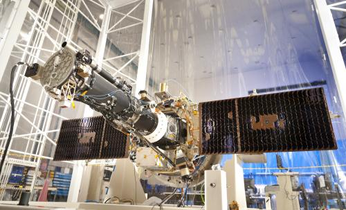 NASA's IRIS spacecraft is fully integrated