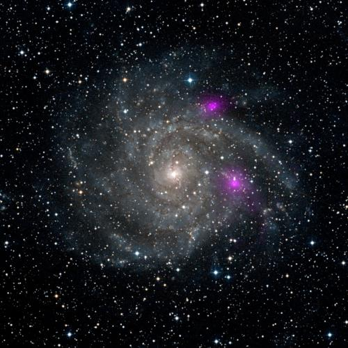 NASA's NuSTAR catches black holes in galaxy web
