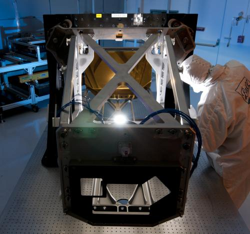 NASA's Webb telescope team completes optical milestone