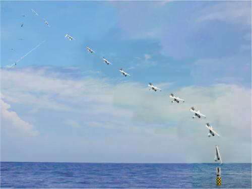 Navy launches UAV from submerged submarine