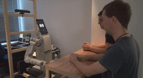 Robot knows who wants one for the road