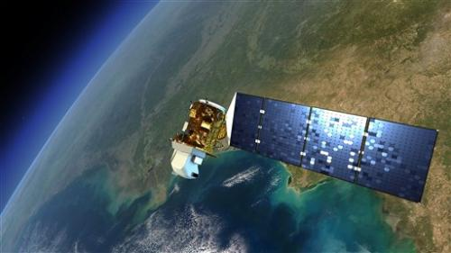 New Earth satellite launches from California coast