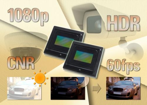 New full HD CMOS image sensor delivers high-resolution imagery to surveillance and automotive markets