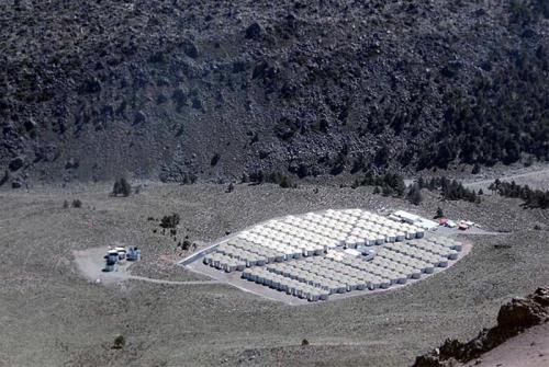 New gamma-ray observatory begins operations at Sierra Negra volcano