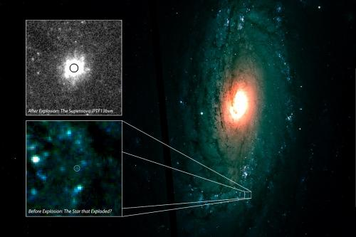 New survey tools unveil 2 celestial explosions