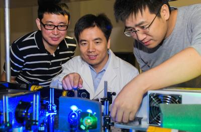 NTU research embraces laser and sparks cool affair