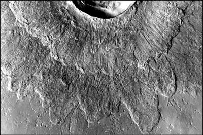 Odd Martian crater type made by impacts into ancient ice