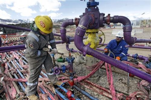 Oil drilling technology leaps, clean energy lags