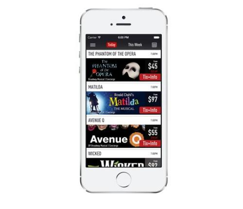 One-stop mobile app offers Broadway ticket ease