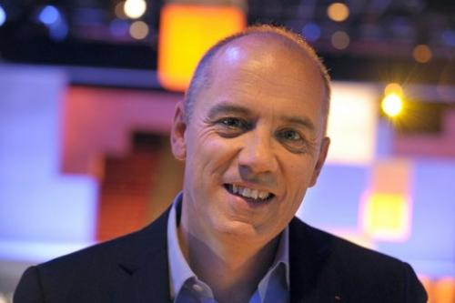 Orange-France Telecom CEO Stephane Richard seen on November 21, 2012 in Paris.