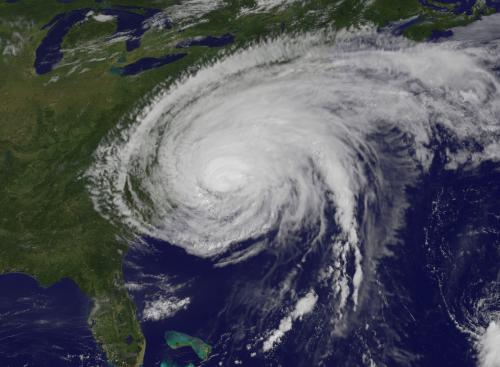 Paleotempestology and 2011's Hurricane Irene