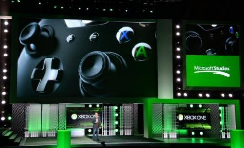 Phil Spencer, VP of Microsoft Game Studios, speaks at the Microsoft Xbox E3 press conference on June 10, 2013