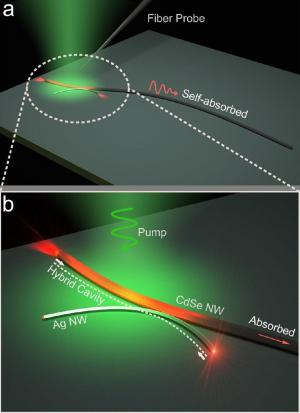 Photon-plasmon nanowire laser offers new opportunities in light manipulation