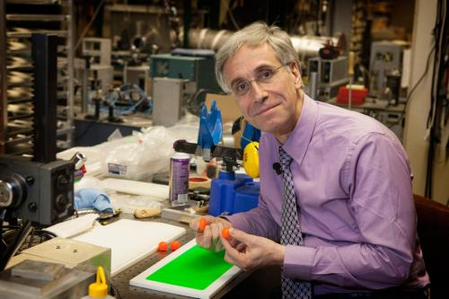 Physicist develops new silicone rubber