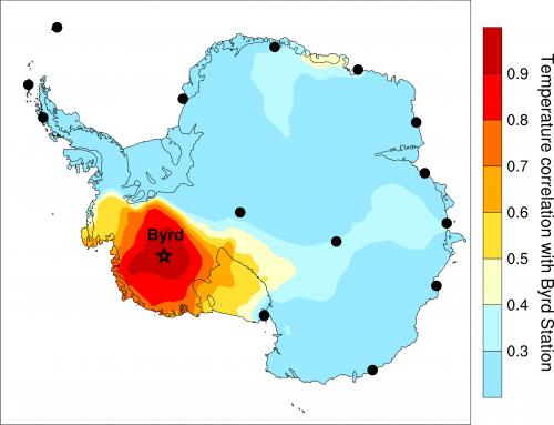 Portions of the West Antarctic Ice Sheet are warming twice as fast as previously thought