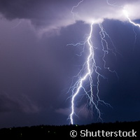 Predicting when lightning will strike