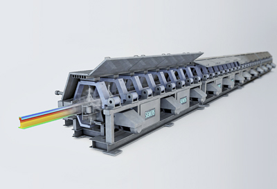 Rail production that is fast and energy efficient