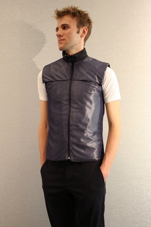 Relax! Slip on an electric vest to knead away stress