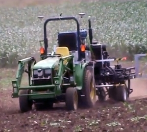 Robotic tractor to deliver precision planting