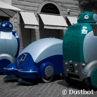 Robots designed to clean up our streets