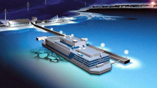 Russians to deploy floating nuclear power plant