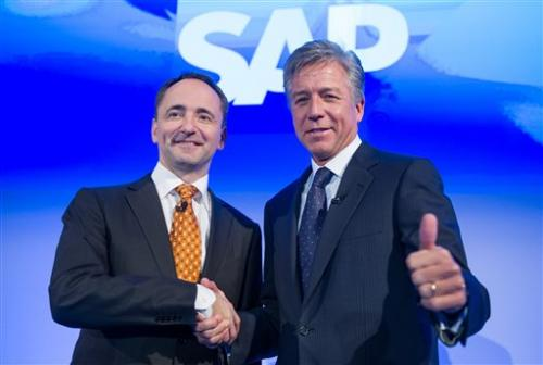 SAP co-CEO: Cloud computing business profitable