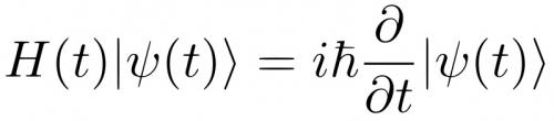 On the origins of the Schrodinger equation