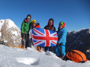 Seven world-firsts for intrepid climbing team