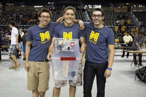 Smart recycle bin wins record-breaking MHacks hackathon