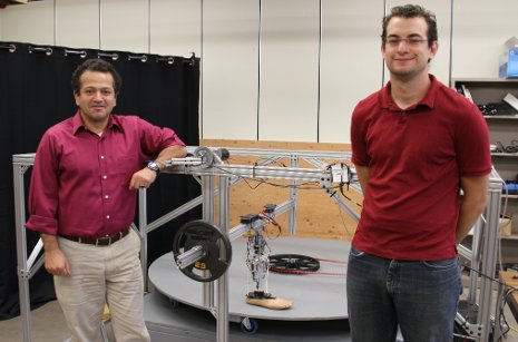 Stepping out in style: Researchers developing an artificial leg with a natural gait