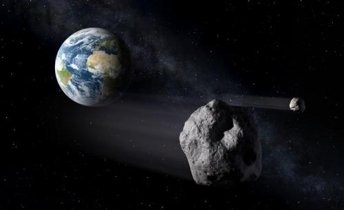 Stranger in the night: space rock to make close Earth flyby