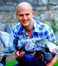 Student investigates pigeon plumage trends