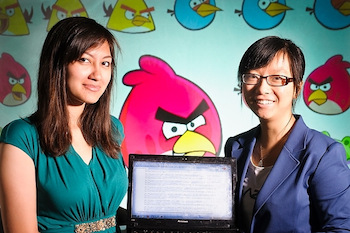 Students game the system, train computer to play Angry Birds