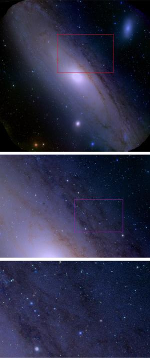 Stunning images of Andromeda demonstrate the world's most powerful astronomical camera