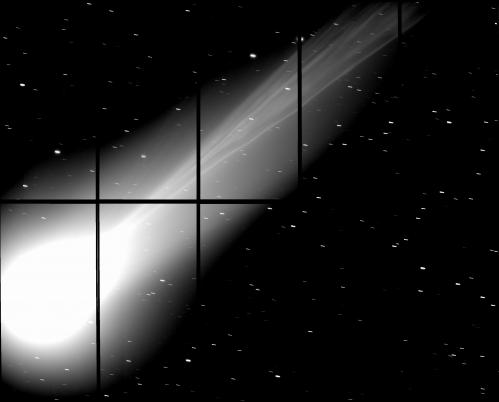 Le Télescope Subaru capture la queue de la comète Lovejoy Subarutelesc