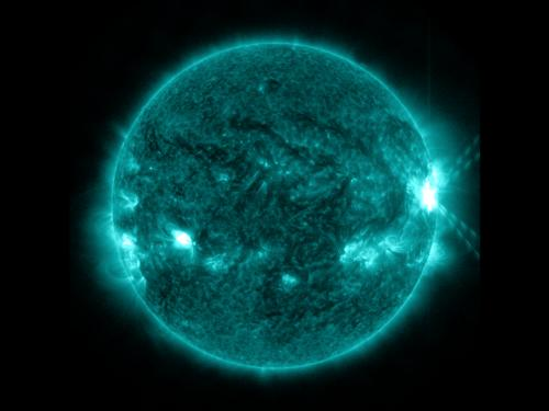 Sun continues to emit solar flares