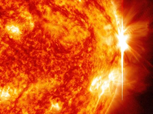 Sun emits fourth X-class flare in a week