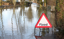 Superfast model brain to predict flooding during heavy rain