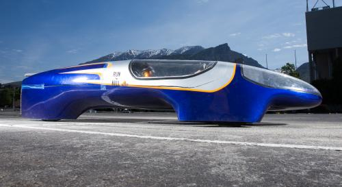 Supermileage vehicle is all about the mpg, not the mph