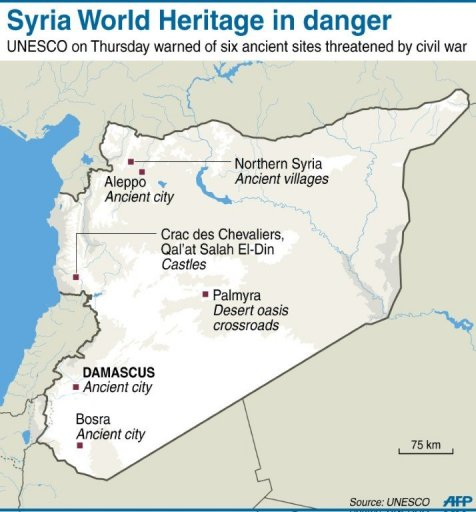 Syria World Heritage in danger