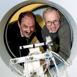Taking X-rays of CO2